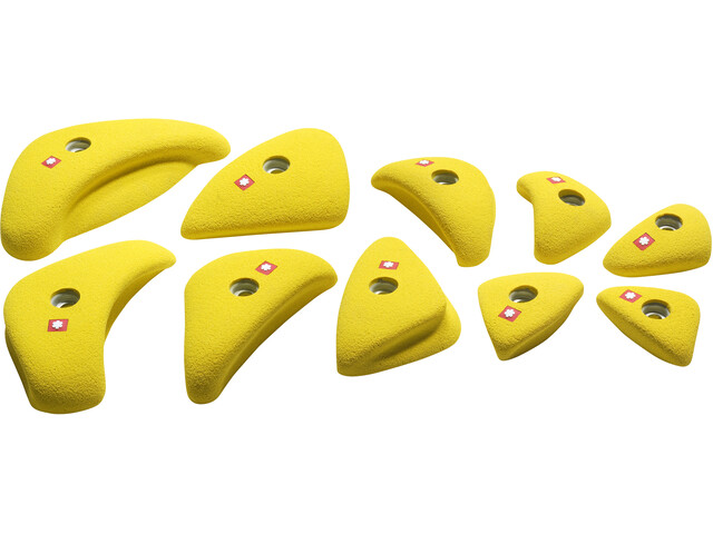 Ocun Holds Set 4 Edges, żółty
